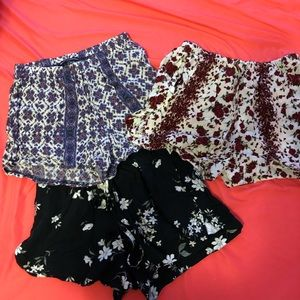 Brandy Melville shorts bundle